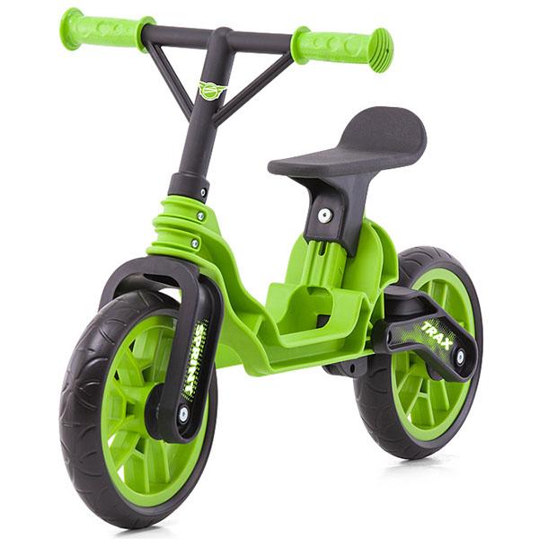 Bicicleta fara pedale Chipolino Trax green