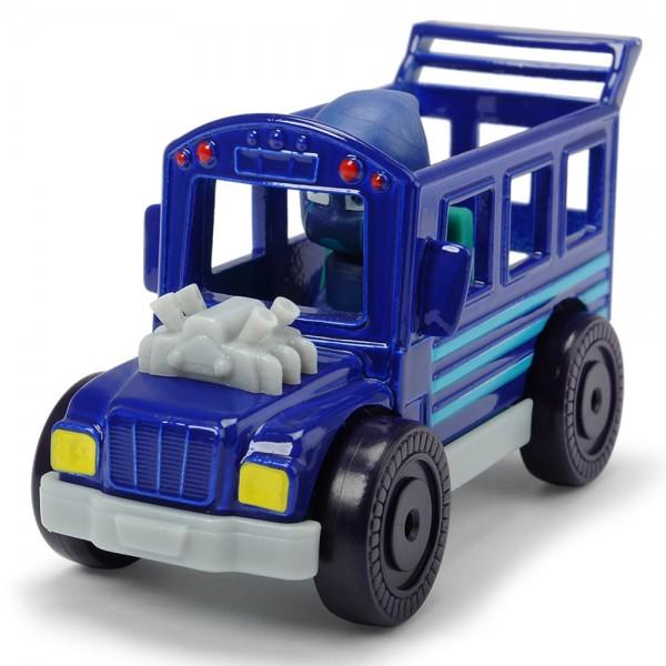 Masina Dickie Toys Eroi in Pijama Night Ninja Bus cu figurina