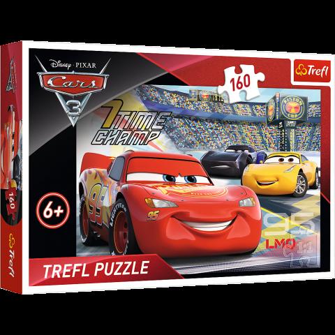 Puzzle Trefl Disney Cars, Accelereaza 160 piese