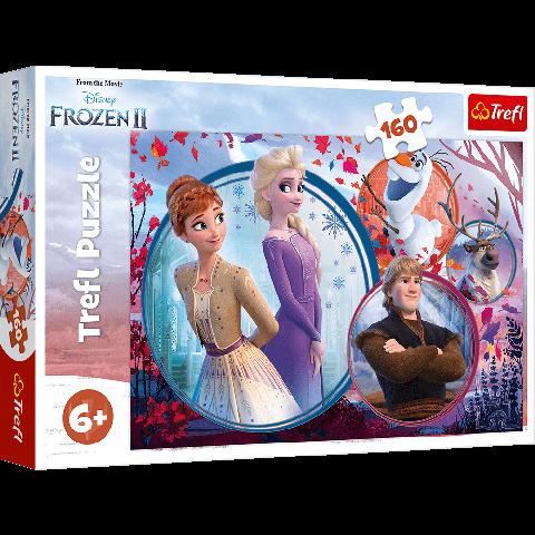 Puzzle Trefl Disney Frozen 2, Aventura surorilor 160 piese