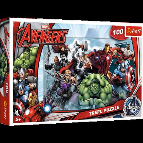 Puzzle Trefl Marvel Avengers, Sa atacam 100 piese