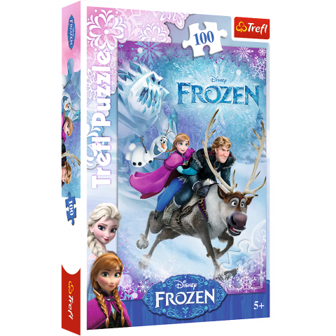 Puzzle Trefl Disney Frozen, Salvarea Annei 100 piese