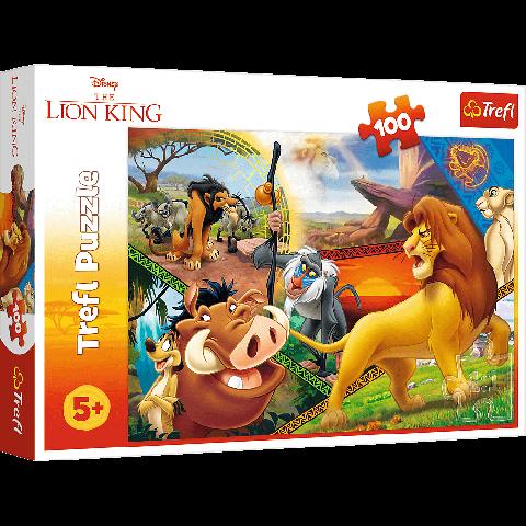 Puzzle Trefl Disney The Lion King, Aventurile lui Simba 100 piese