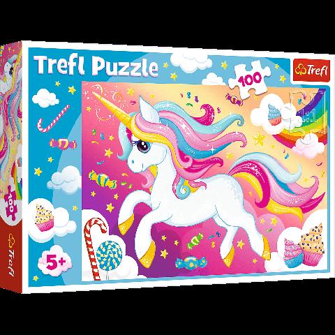 Puzzle Trefl Unicornul minunat 100 piese