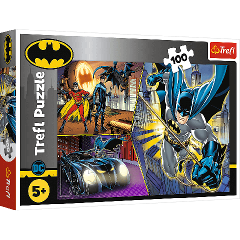Puzzle Trefl DC Batman Neinfricatul 100 piese