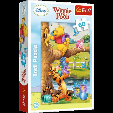 Puzzle Trefl Disney Winnie the Pooh, O mica atentie 60 piese