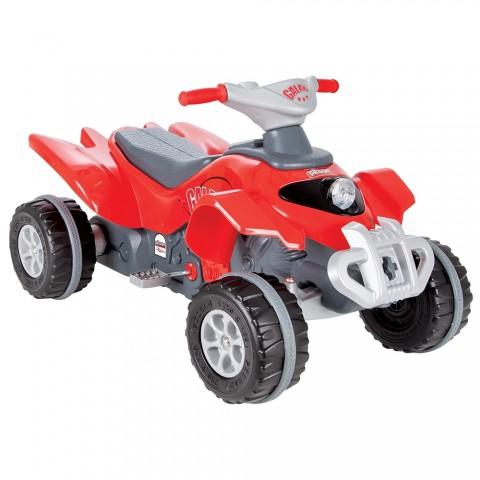 ATV cu pedale Pilsan Galaxy red