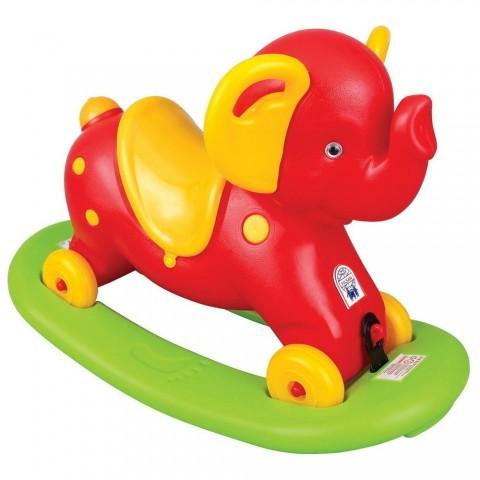 Balansoar pentru copii Pilsan Elephant red