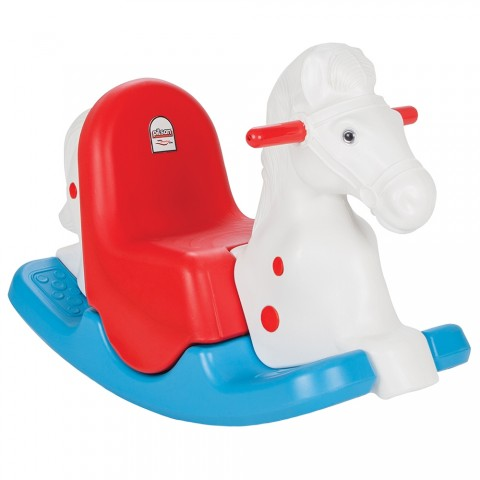 Balansoar pentru copii Pilsan Happy Horse white