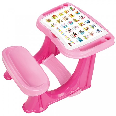 Banca scolara Pilsan Handy Study Desk pink