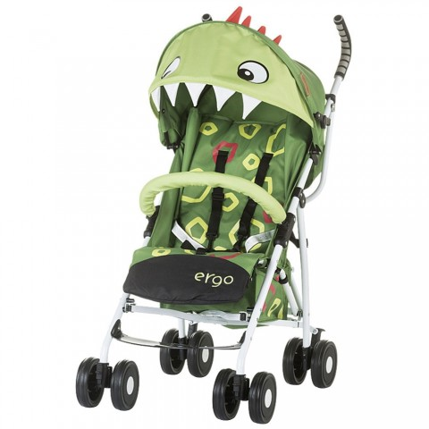 Carucior Chipolino Ergo green baby dragon