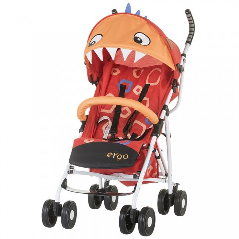Carucior Chipolino Ergo red baby dragon