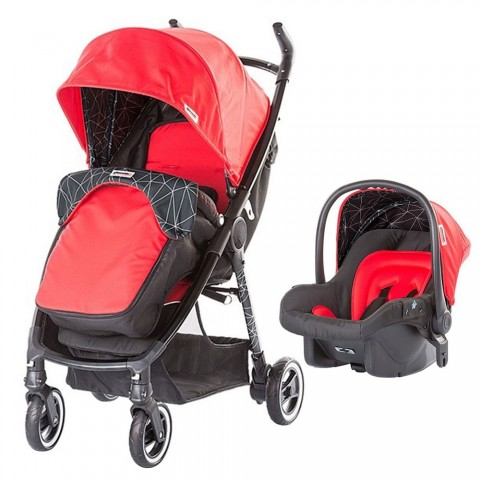 Carucior Chipolino Motto 2 in 1 red