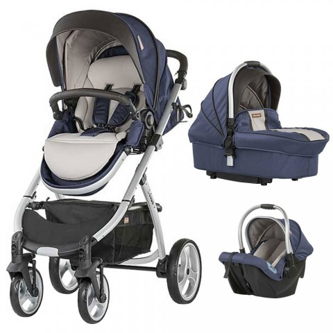 Carucior Chipolino Up & Down 3 in 1 blue indigo