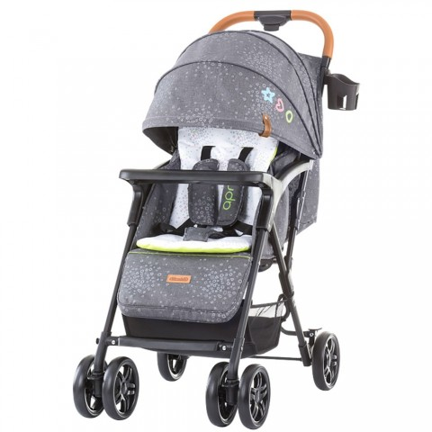 Carucior sport Chipolino April grey linen