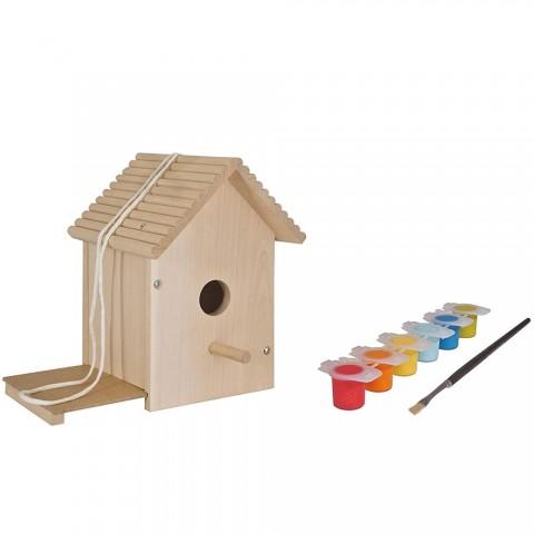 Casuta din lemn pentru pasari Eichhorn Bird House
