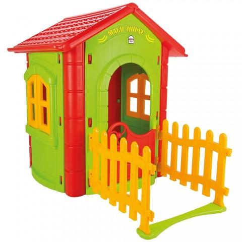 Casuta pentru copii Pilsan Magic House green