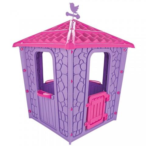 Casuta pentru copii Pilsan Stone House purple