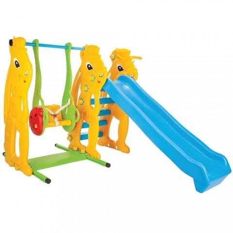 Centru de joaca Pilsan Squirrel Slide and Swing Set