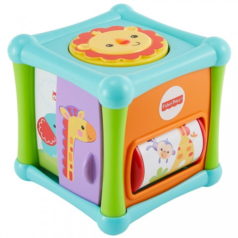 Cub cu activitati Fisher Price by Mattel Infant Animalute