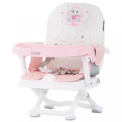 Inaltator scaun de masa Chipolino Lollipop peony pink