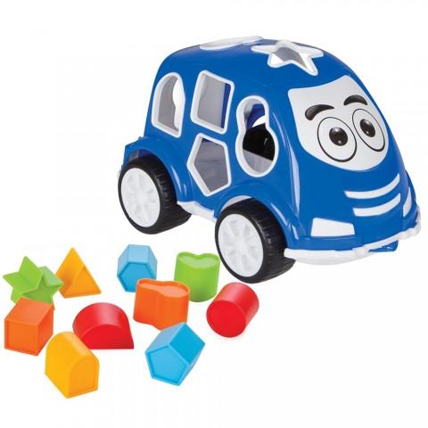 Jucarie cu sortator Pilsan Car blue