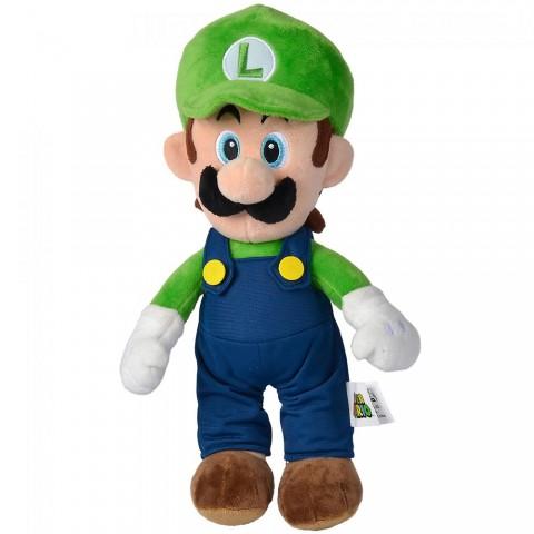 Jucarie de plus Simba Super Mario, Luigi 30 cm