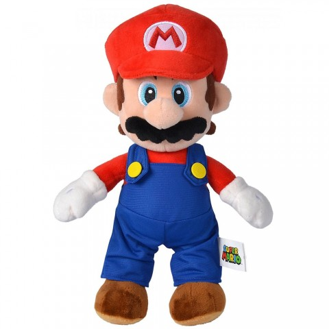Jucarie de plus Simba Super Mario, Mario 30 cm