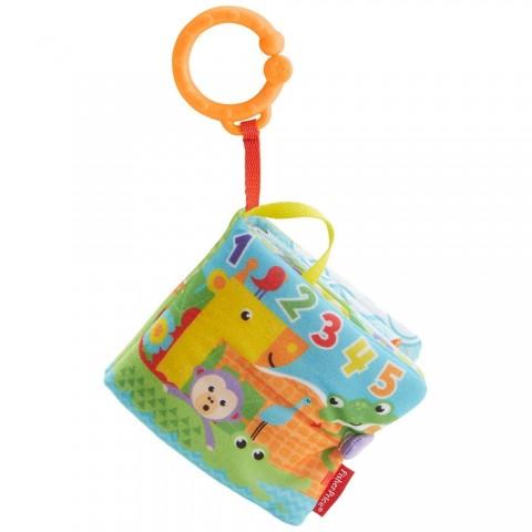Jucarie Fisher Price by Mattel Newborn Carticica cu numere si activitati