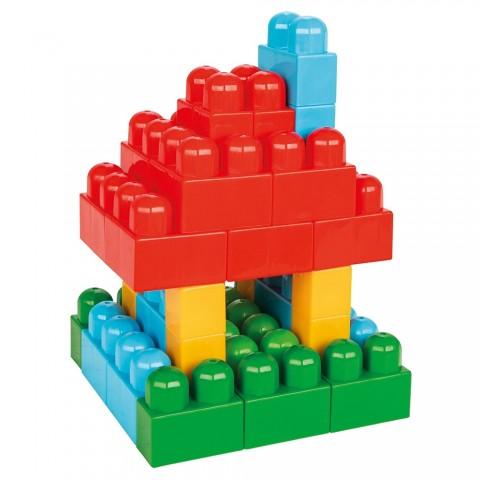Jucarie Pilsan Cuburi de construit in cutie Super Blocks 40 piese