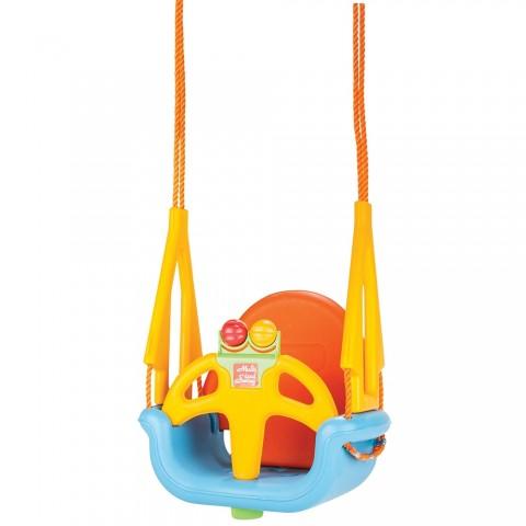 Leagan pentru copii Pilsan DO RE MI orange blue