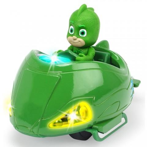 Masina Dickie Toys Eroi in Pijama Mission Racer Gekko cu figurina