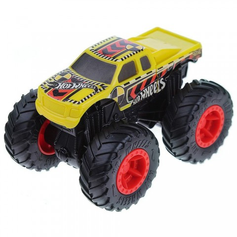 Masina Hot Wheels by Mattel Monster Trucks Crash Recruit