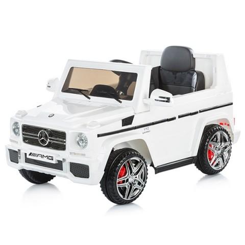 Masinuta electrica Chipolino SUV Mercedes Benz G65 AMG white