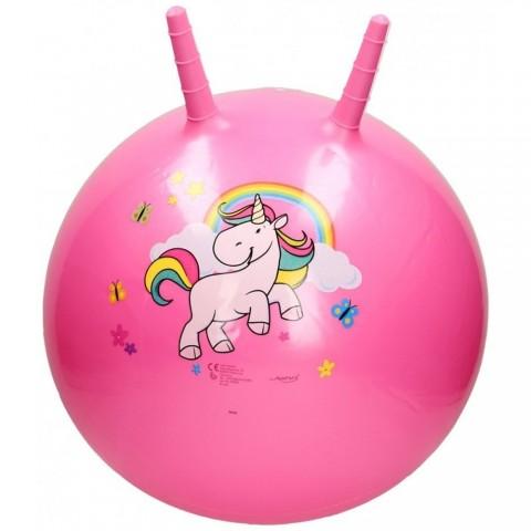 Minge gonflabila pentru sarit John Unicorn roz