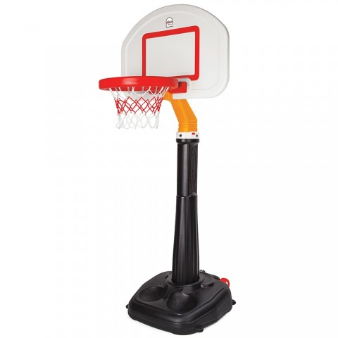 Panou cu stativ si cos baschet pentru copii Pilsan Professional Basketball Set