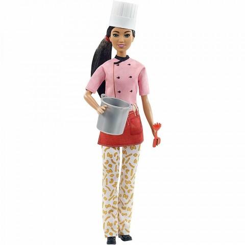 Papusa Barbie by Mattel Careers Bucatar Sef