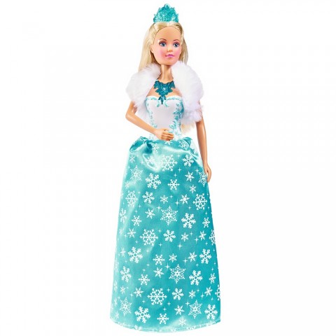 Papusa Simba Steffi Love Magic Ice Princess 29 cm