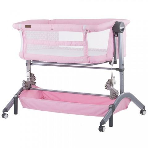 Patut Co-Sleeper Chipolino Amore Mio peony pink
