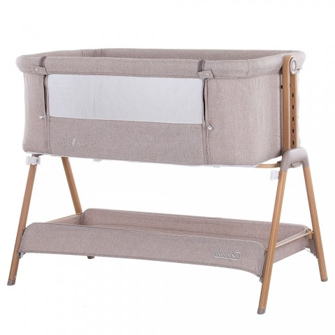 Patut Co-Sleeper Chipolino Sweet Dreams mocca wood