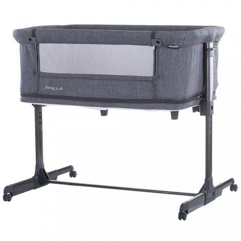 Patut Co-Sleeper si tarc Chipolino Mommy'n Me graphite