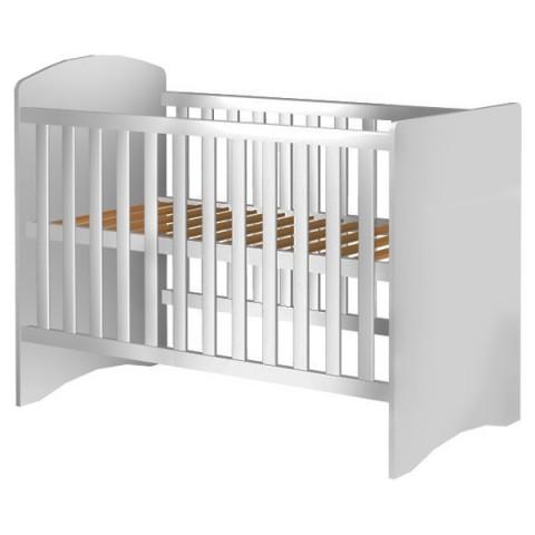 Patut copii din lemn Hubners Anne 120x60 alb