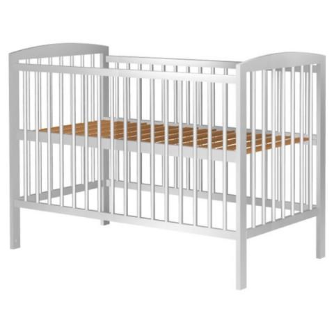 Patut copii din lemn Hubners Anzel 120x60 cm alb