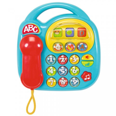 Jucarie Simba ABC Telefon muzical albastru