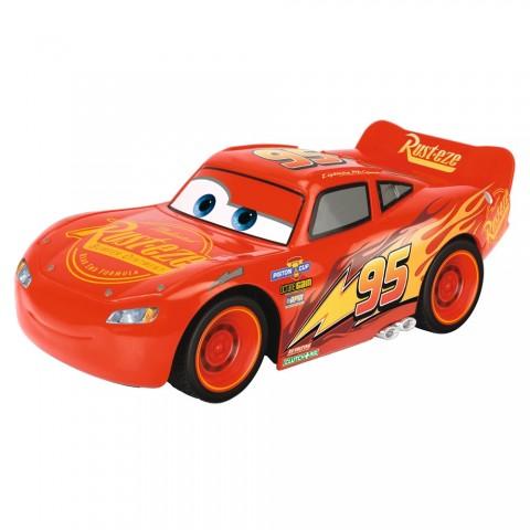 Masina Dickie Toys Cars 3 Crash Car Lightning McQueen cu telecomanda
