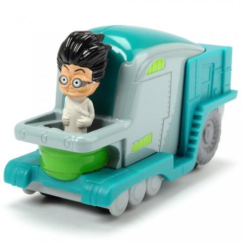 Masina Dickie Toys Eroi in Pijama Romeo's Lab cu figurina