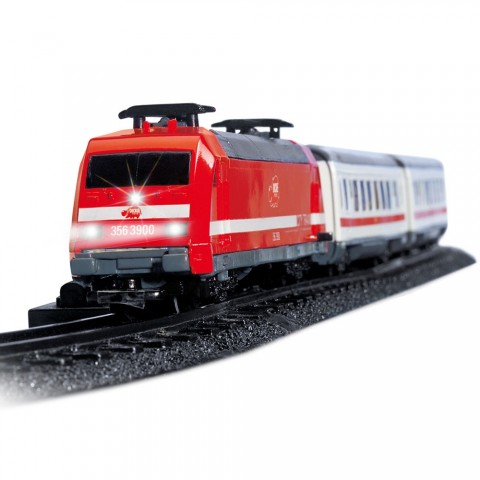 Set Dickie Toys Tren City Train cu sine