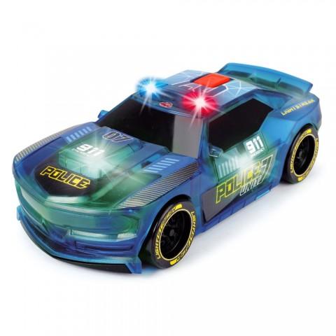 Masina de politie Dickie Toys Lightstreak Police cu sunete si lumini