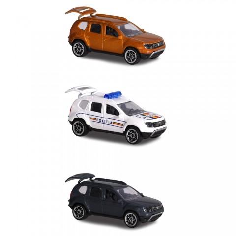 Set Majorette 3 Masinute Dacia Duster