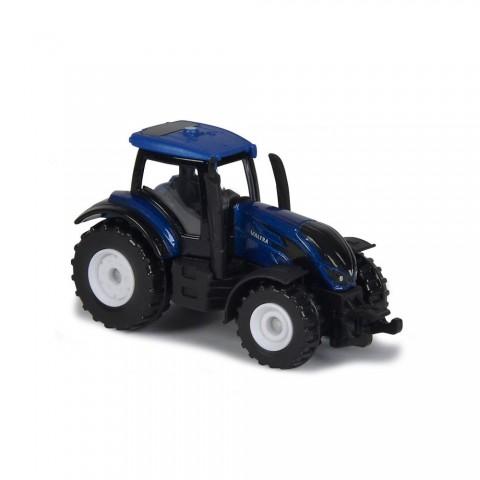 Tractor Majorette Valtra T4 albastru
